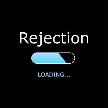 rejection: Illustration - Loading Rejection