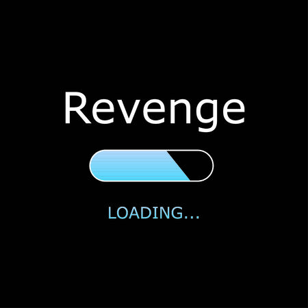 venganza: Ilustraci�n - Cargando Revenge Foto de archivo