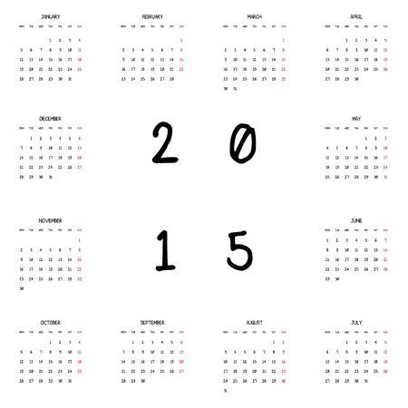 planner: 2015 Planner Calendar