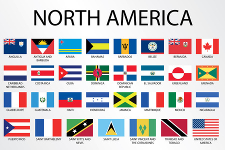 country flags: Alphabetical Country Flags for the Continent of
