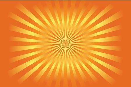 kamikaze: Illustrated Colourful rising sun style background