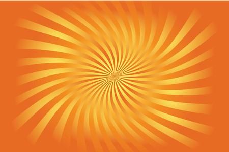 rising sun: Ilustrado colorida creciente fondo de estilo sol