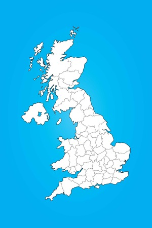 humanism: An Illustrated Map of the United Kingdom