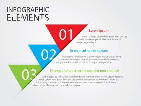 An Illustration of Modern infographic chart illustration