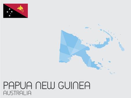 papouasie: Un ensemble de Infographie �l�ments pour le Pays de la Papouasie-Nouvelle-Guin�e