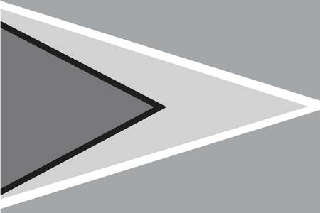 illustrated: An Illustrated grayscale flag of the country of Guyana Illustration