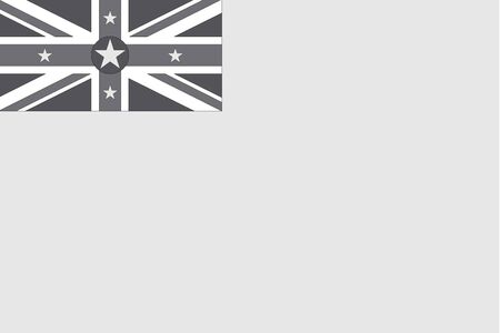 niue: An Illustrated grayscale flag of the country of Niue