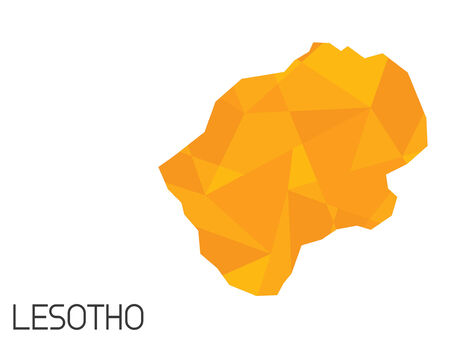 lesotho: A Set of Infographic Elements for the Country of Lesotho