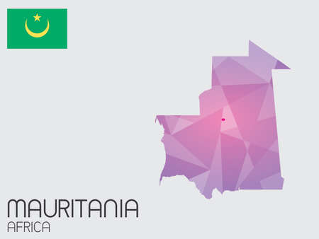 mauritania: A Set of Infographic Elements for the Country of Mauritania