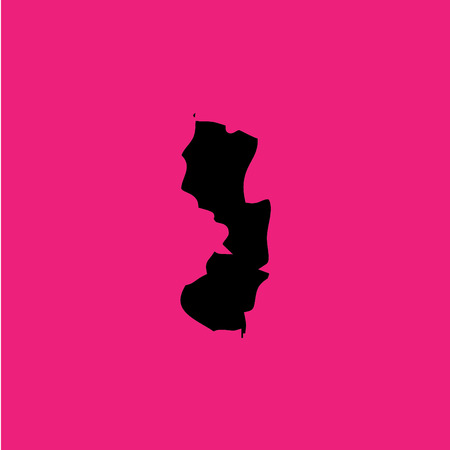 new jersey: A Coloured background with the shape of the united states state of New Jersey