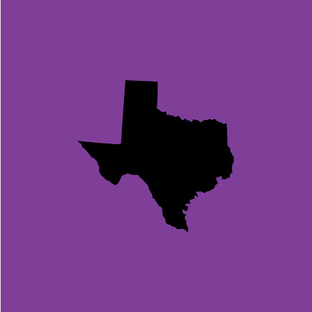 A Coloured background with the shape of the united states state of Texas