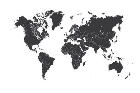 mapa de el salvador: Un mapa del mundo con un pa�s seleccionado de El Salvador Foto de archivo