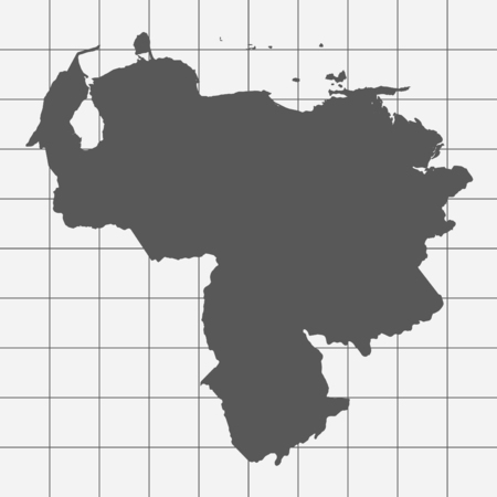 squared paper: Squared Paper with the Shape of the Country of   Venezuela