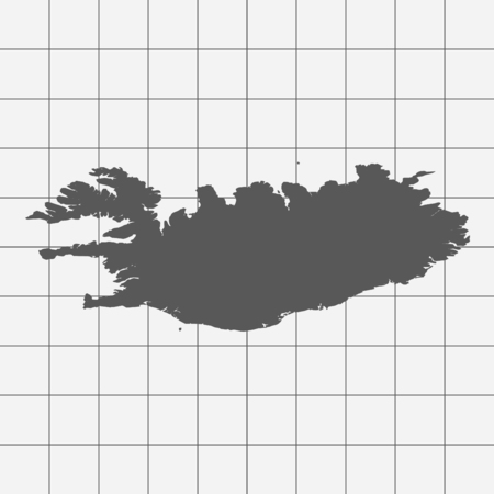 squared paper: Squared Paper with the Shape of the Country of   Greenland