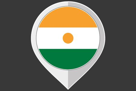 niger: A Pointer with the flag of Niger