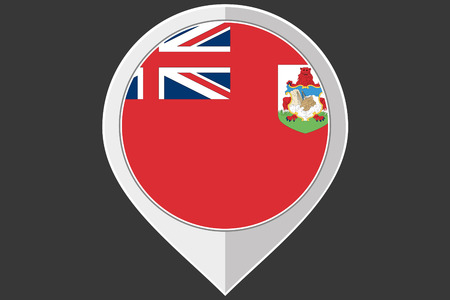 bermuda: A Pointer with the flag of Bermuda