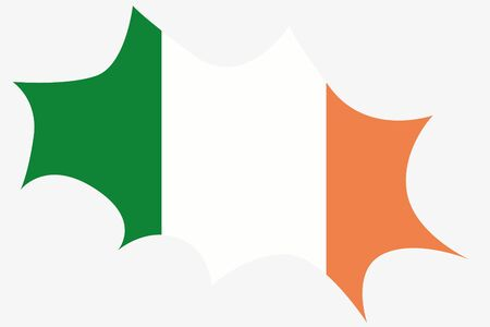 wit: An Explosion wit the flag of Ireland