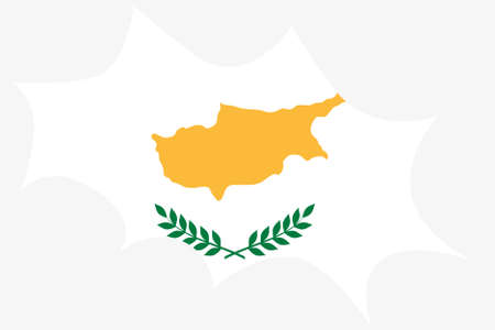 wit: An Explosion wit the flag of Cyprus