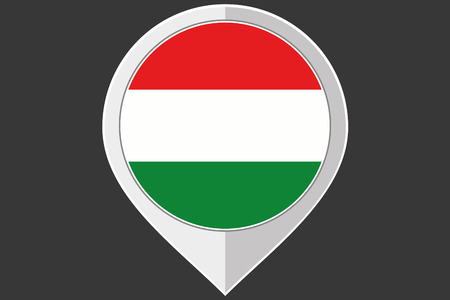 ensign: A Pointer with the flag of Hungary