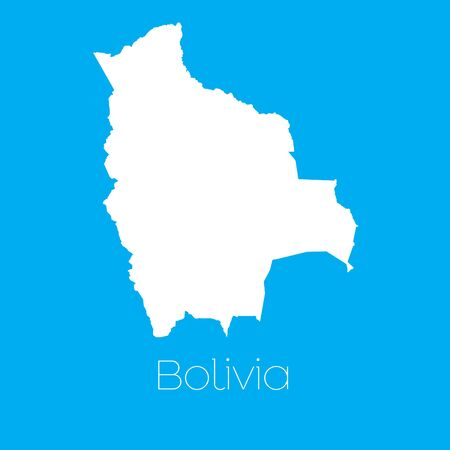 mapa de bolivia: Un mapa del pa�s de Bolivia