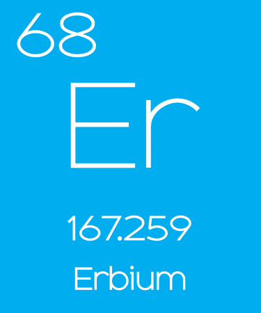 informative: An Informative Illustration of the Periodic Element - Erbium