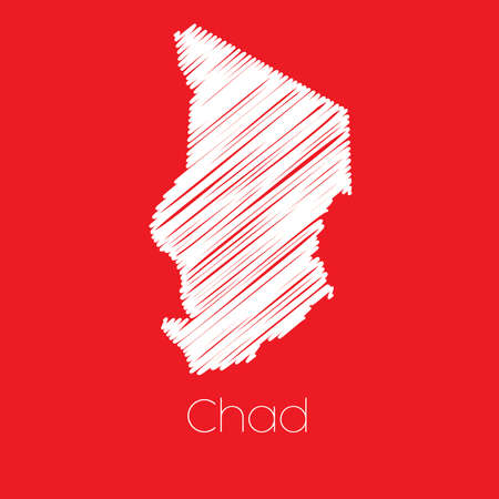 chad: A Map of the country of Chad Chad