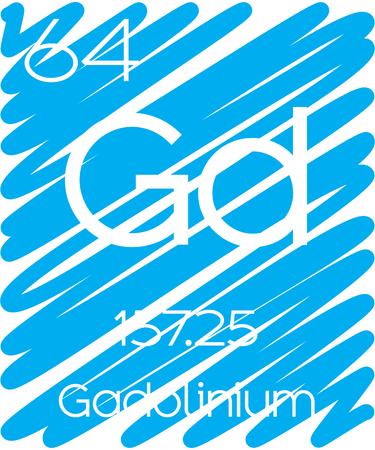 periodic element: An Informative Illustration of the Periodic Element - Gadolinium