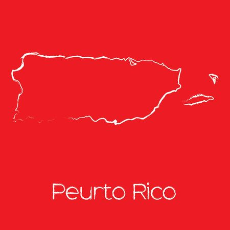 rico: A Map of the country of Puerto Rico