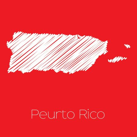 rico: A Map of the country of Puerto Rico Puerto Rico