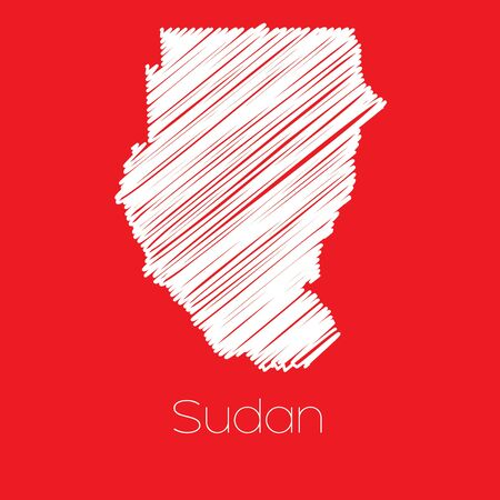 Sudan: A Map of the country of Sudan Sudan