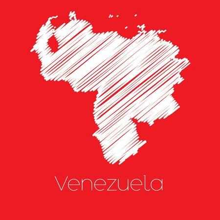 mapa de venezuela: Un mapa del pa�s de Venezuela Venezuela