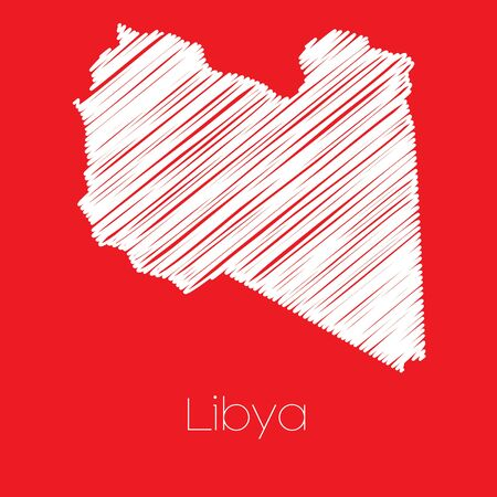 libya: A Map of the country of Libya Libya
