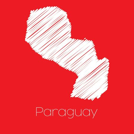 paraguay: A Map of the country of Paraguay Paraguay