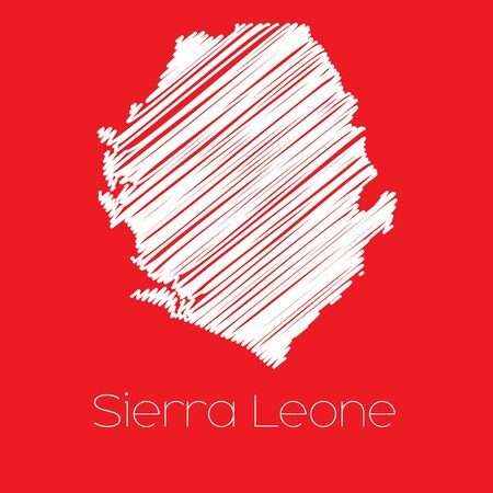 leone: A Map of the country of Sierra Leone Sierra Leone