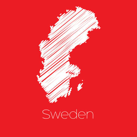 sweden: A Map of the country of Sweden Sweden