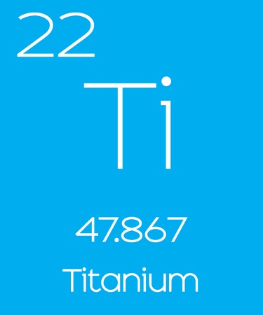 titanium: An Informative Illustration of the Periodic Element - Titanium