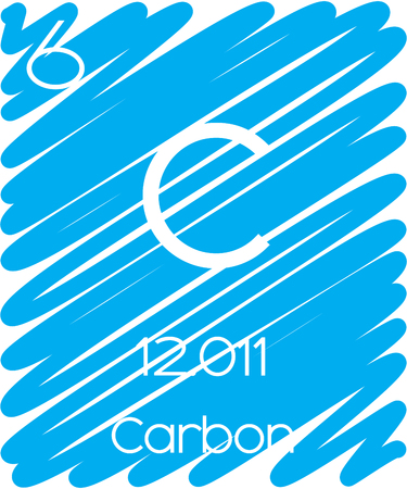 periodic element: An Informative Illustration of the Periodic Element - Carbon