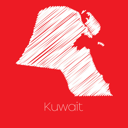 kuwait: A Map of the country of Kuwait Kuwait