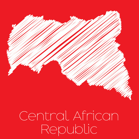 central african republic: A Map of the country of Central African Republic Central African Republic