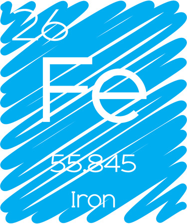 periodic element: An Informative Illustration of the Periodic Element - Iron