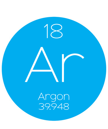 argon: An Informative Illustration of the Periodic Element - Argon
