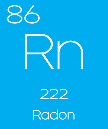 radon: An Informative Illustration of the Periodic Element - Radon Illustration