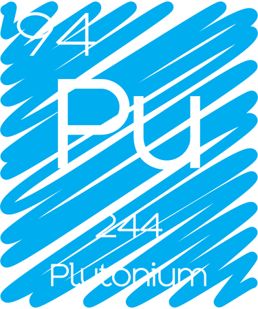 An Informative Illustration of the Periodic Element - Plutonium