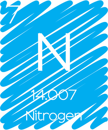 nitrogen: An Informative Illustration of the Periodic Element - Nitrogen