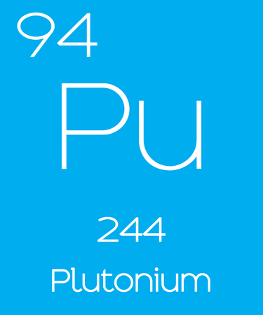 atomic number: An Informative Illustration of the Periodic Element - Plutonium