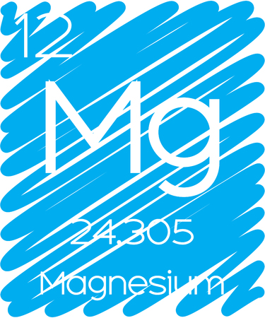 actinides: An Informative Illustration of the Periodic Element - Magnesium