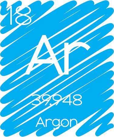 periodic element: An Informative Illustration of the Periodic Element - Argon