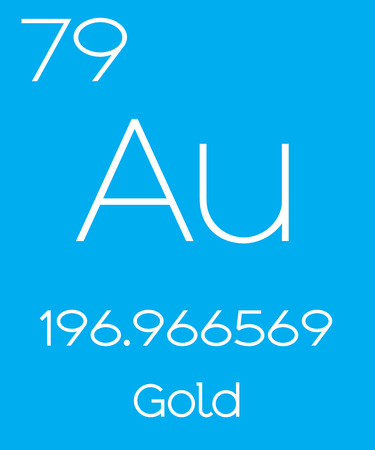 halogens: An Informative Illustration of the Periodic Element - Gold Illustration