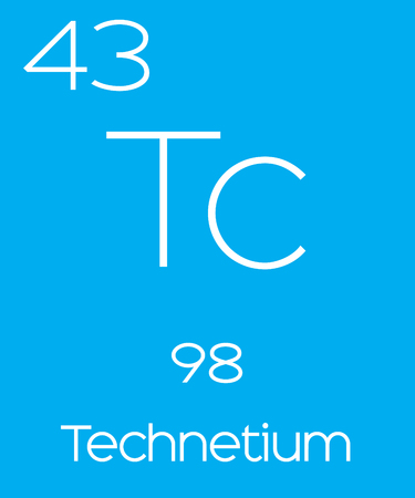 An Informative Illustration of the Periodic Element - Technetium Illustration