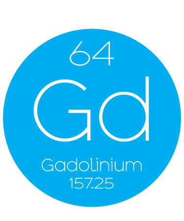 An Informative Illustration of the Periodic Element - Gadolinium